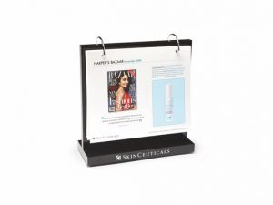 Branded Countertop Cosmetic Info Display