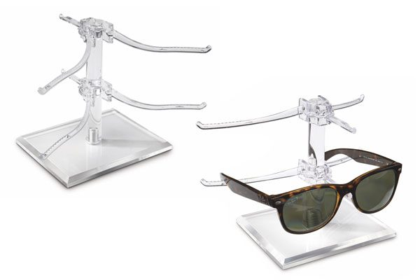 Countertop or In-Case Eyewear Display