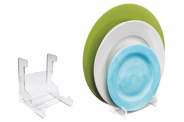 Patented Acrylic Plate & Bowl Holder